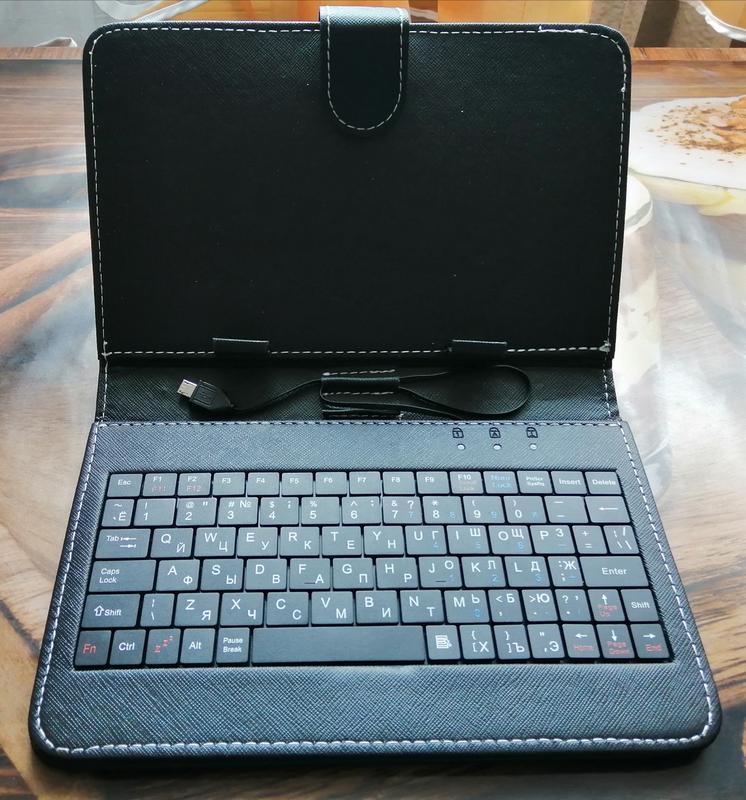 Чехол клавиатура для планшета, чехол-книжка