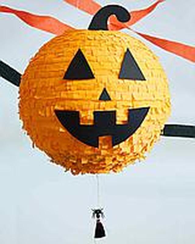 Пиньята на Хеллоуин