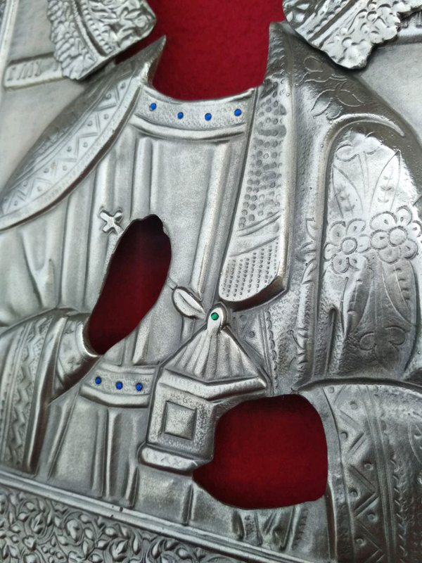 Оклад на ікону Св Пантелеймон