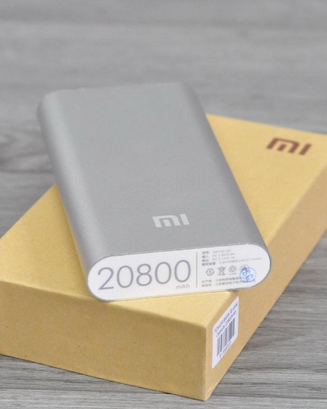 Повер банк Xiaomi 20800 mAh Power Bank Внешний Аккумулятор - Фото 2