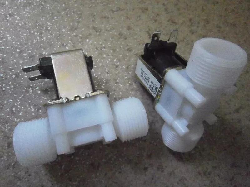 """Электромагнитный клапан 3/4"""" 12 24 и 220V электроклапан солено..."""