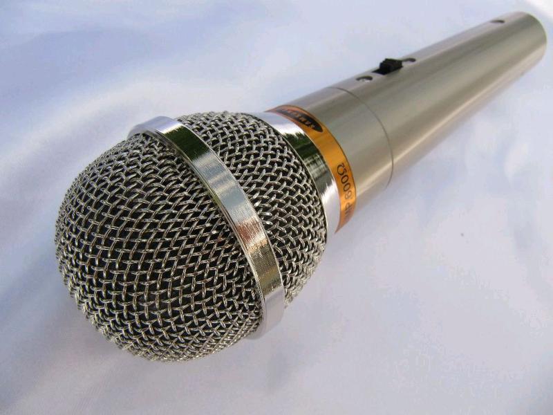 Микрофон динамический Samsung DM-833, новый, чехол,