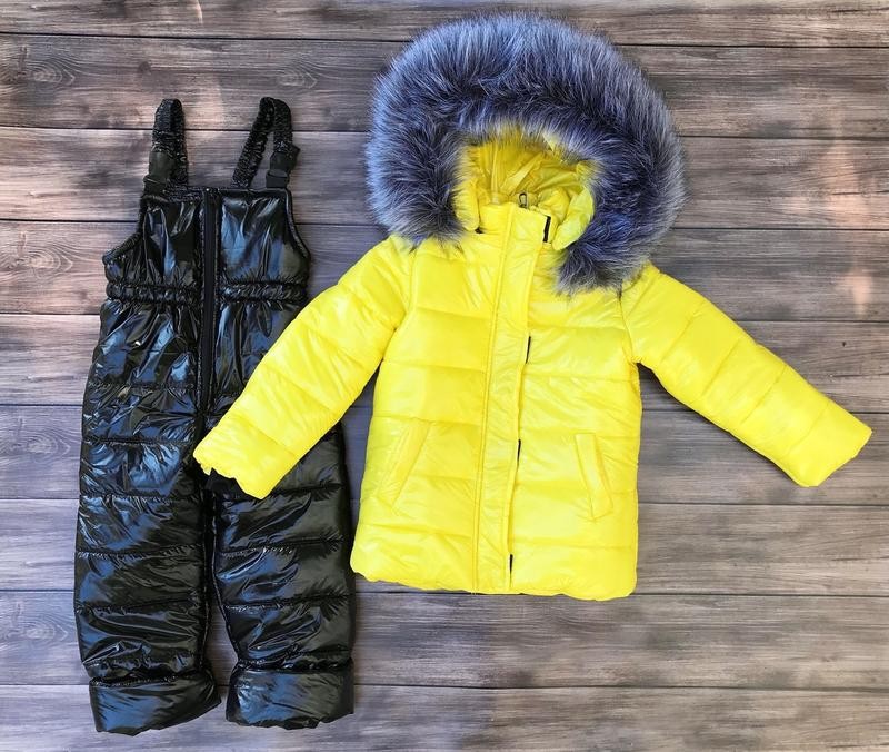 Зимний комбинезон, куртка и полукомбинещон