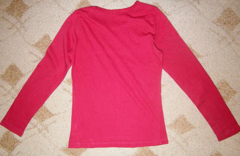 Реглан блузка лонгслив на девочку 8-10 лет Fox свитшот кофта голь - Фото 5