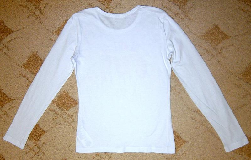 Реглан блузка лонгслив на девочку 8-10 лет Fox свитшот кофта голь - Фото 9