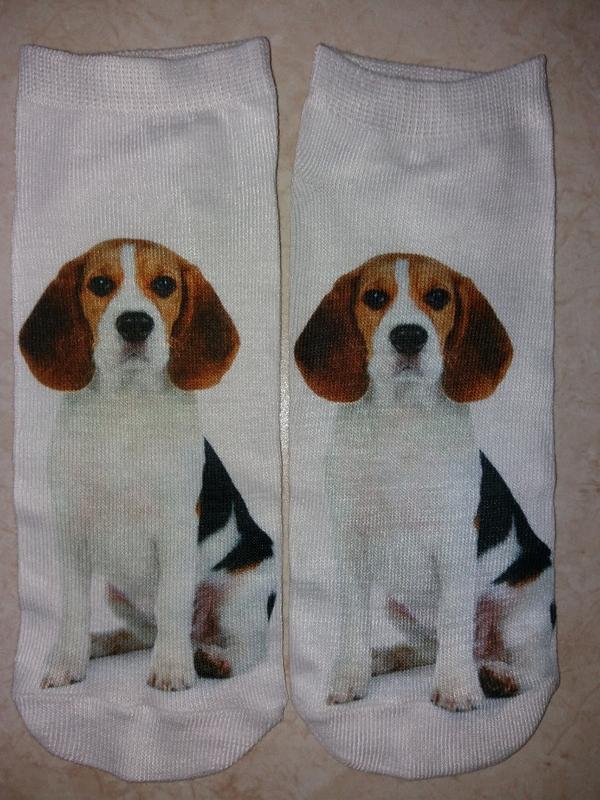 Короткие 3-д носочки - Фото 4