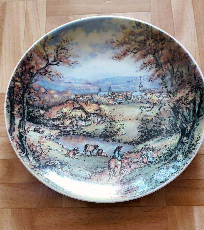 Коллекционная тарелка серии bareuther, германия