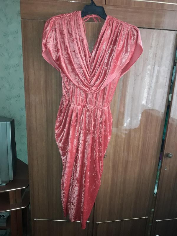Нарядное платье 46-48 размер - Фото 3