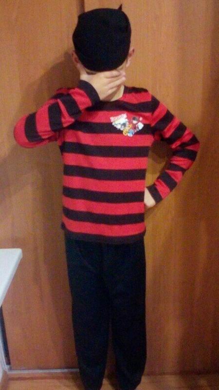 Карнавальный костюм пират на 8-9 лет