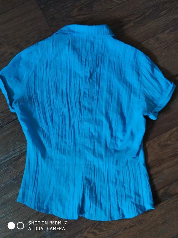 Брендовая блузка рубашка. - Фото 2