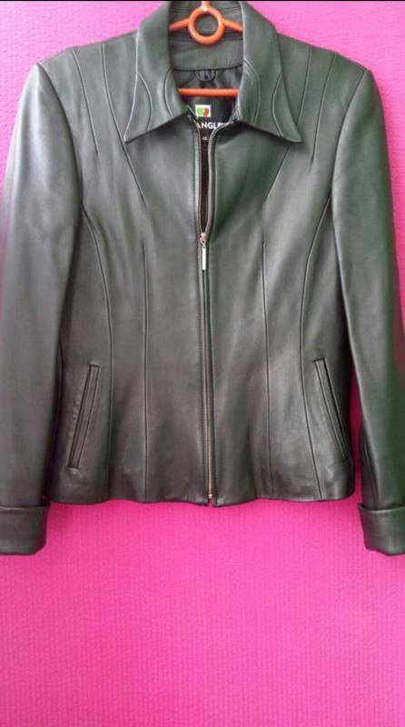 Куртка пиджак натуральная кожа