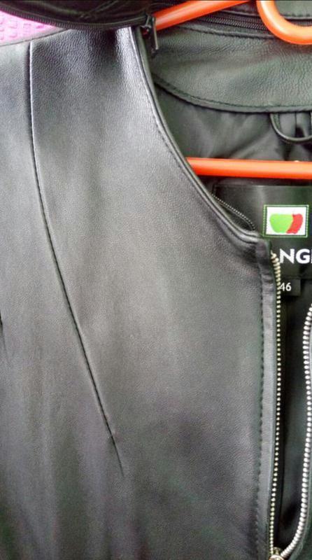 Куртка пиджак натуральная кожа - Фото 2