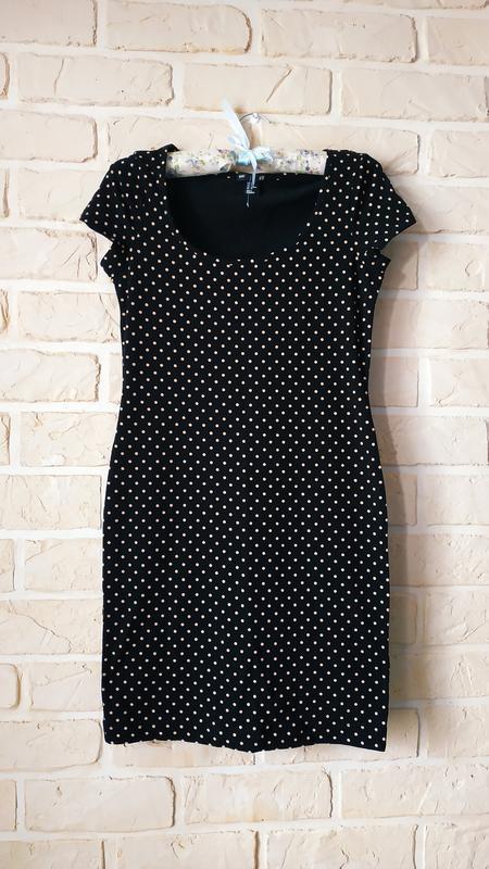 Базовое, стильное, трикотажное платье