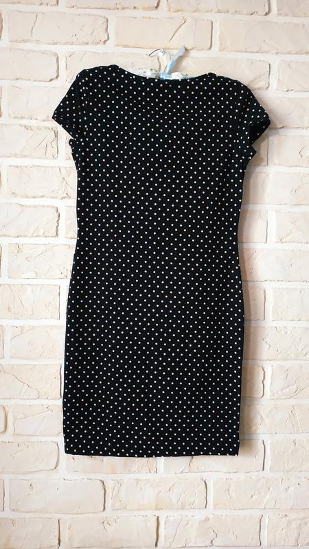 Базовое, стильное, трикотажное платье - Фото 2