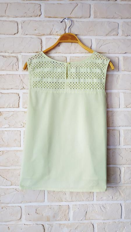 Натуральная блуза прошва - Фото 2