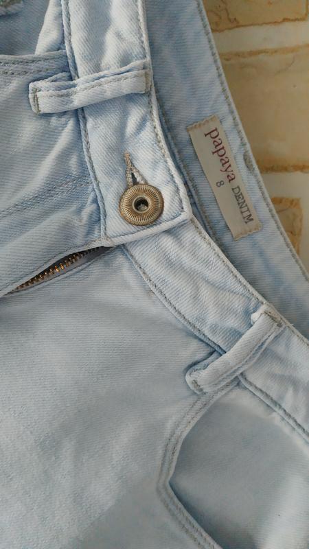 Светлые, джинсовые шорты - Фото 3