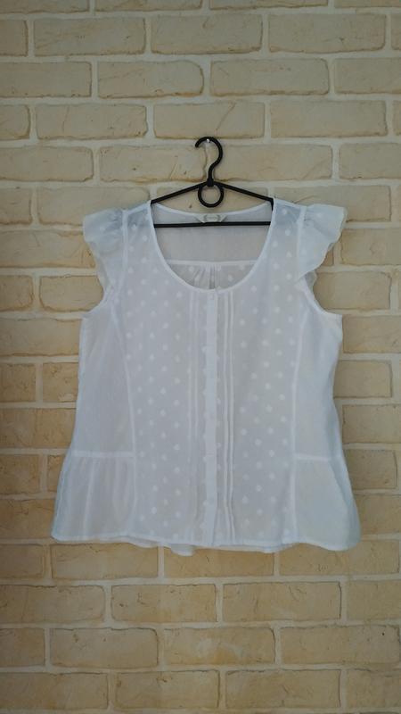 Натуральная, лёгкая, батистовая блуза
