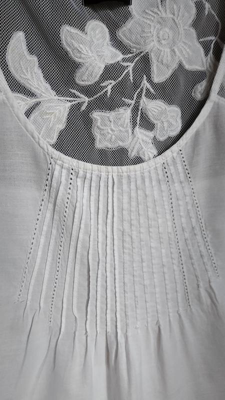 Лёгкая, натуральная майка, блуза - Фото 3
