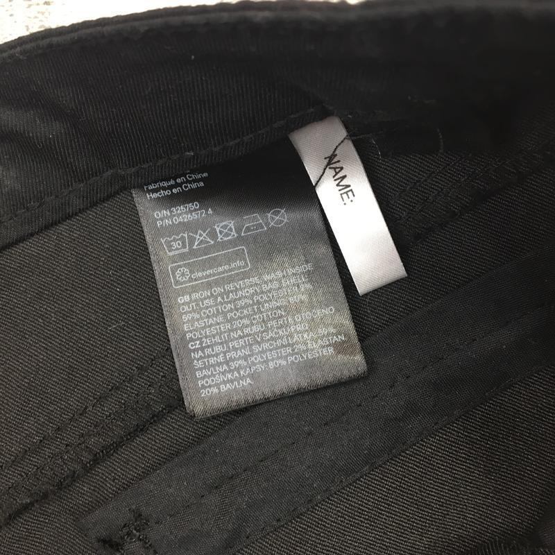 -70%! джинсовые чёрные шорты из эластичного денима, со звёздами - Фото 4