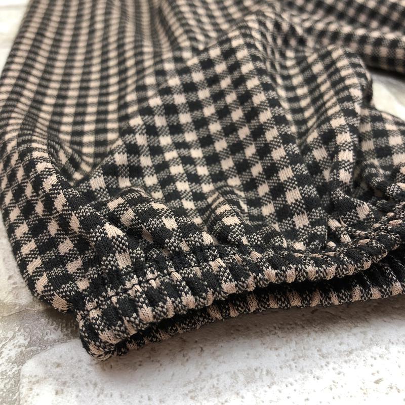 Стильная удлиненная блуза, туника в клетку, - Фото 2