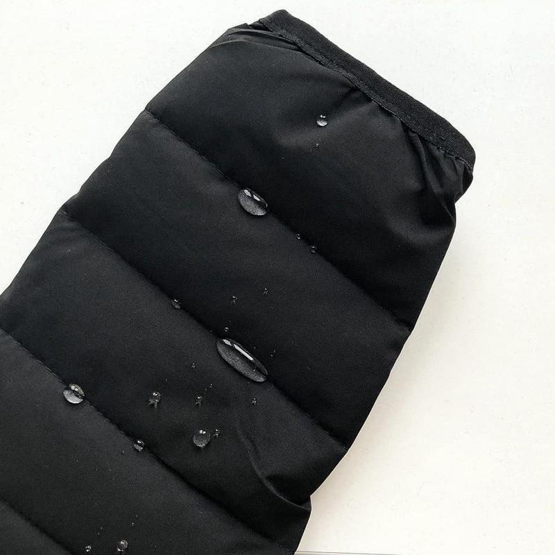 Черная осенняя куртка - Фото 4