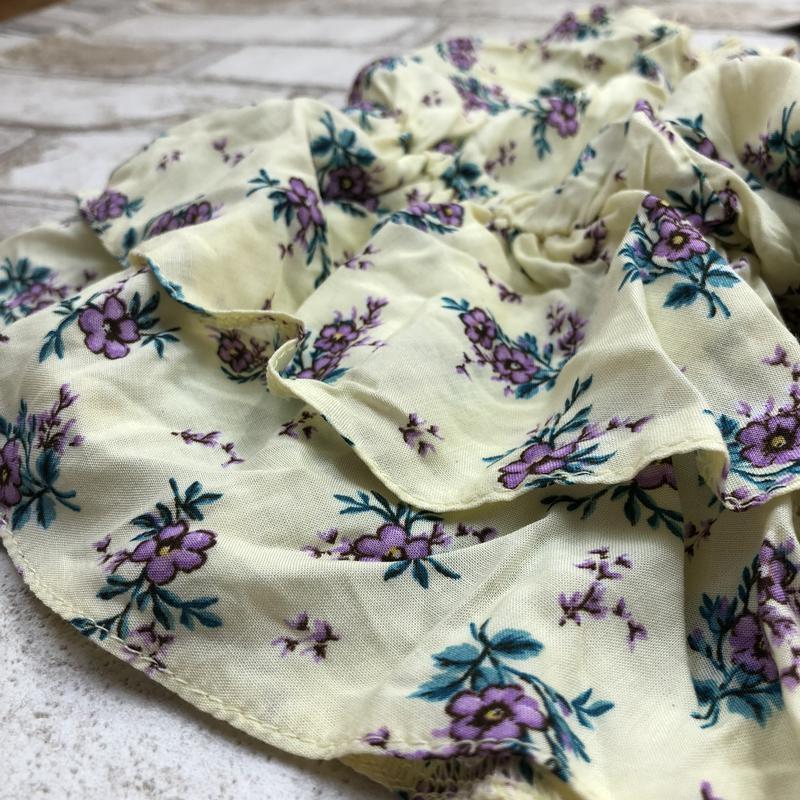 -70%! воздушная стильная блуза в цветах с оборками и открытыми... - Фото 3