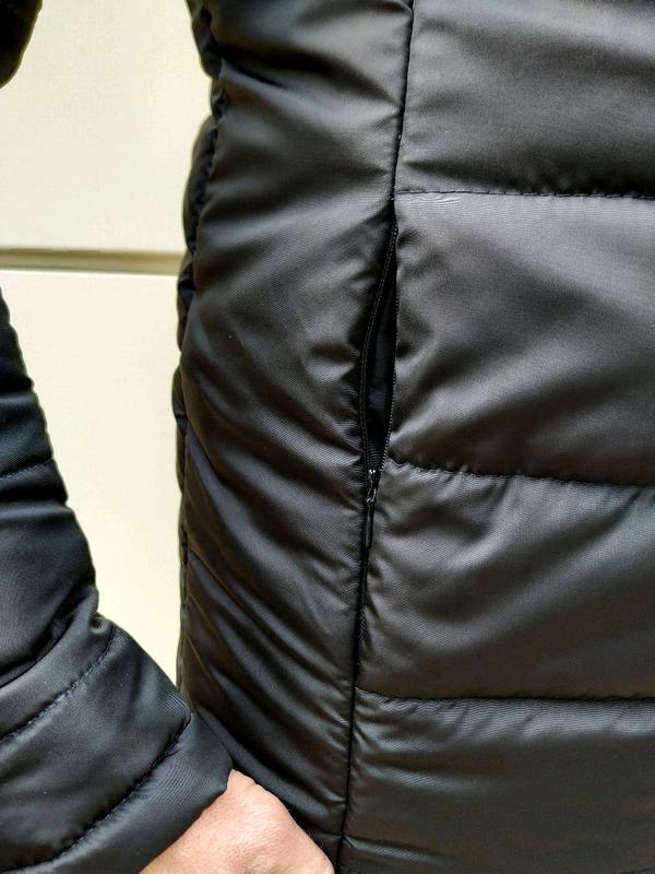 Мужская зимняя куртка без капюшона - Фото 7