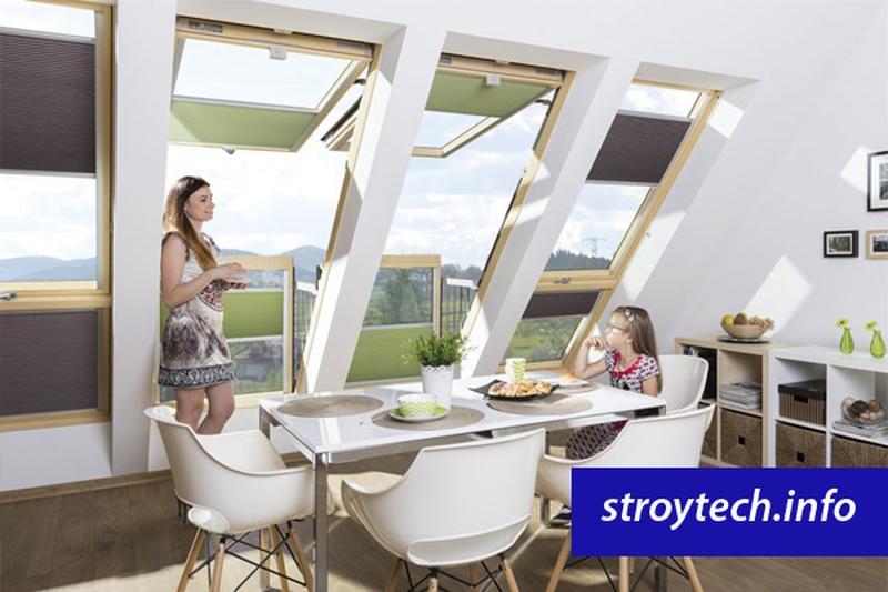Окно-балкон для мансарды FAKRO