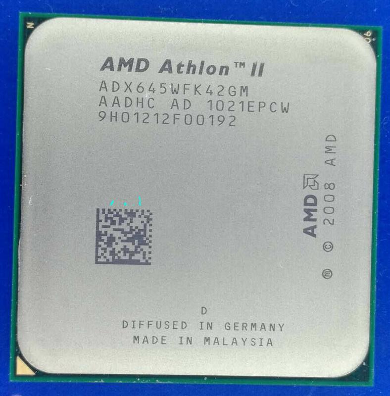 AMD Athlon II X4 645 3100mhz s.AM2+/AM3 Процессор