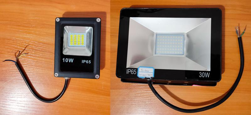 Светодиодные прожектора, Прожектор, LED, 10W, 30W