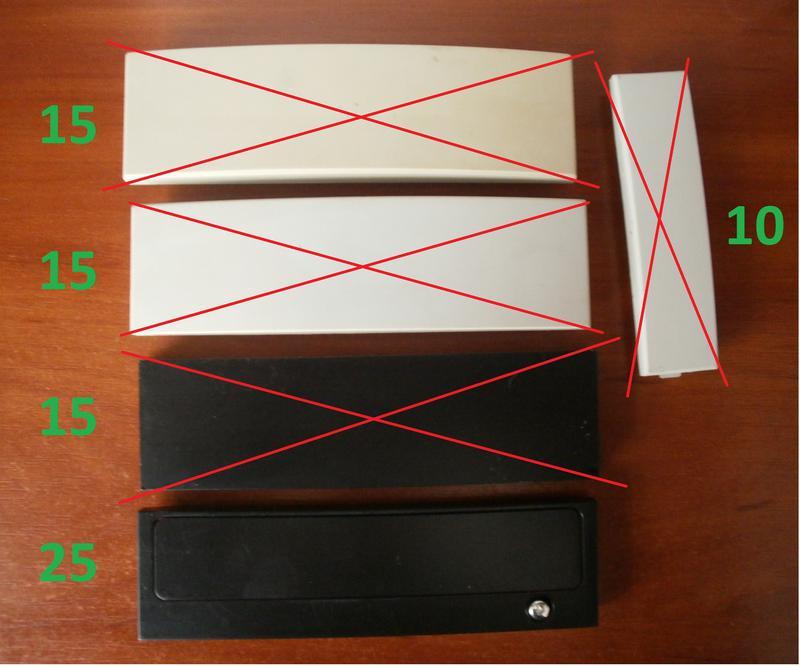Заглушки на переднюю панель системного блока ПК