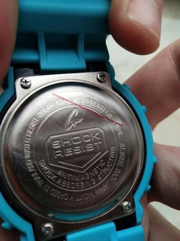 Часы мужские наручные Casio GA-110HC кварцевые + электронные - Фото 2