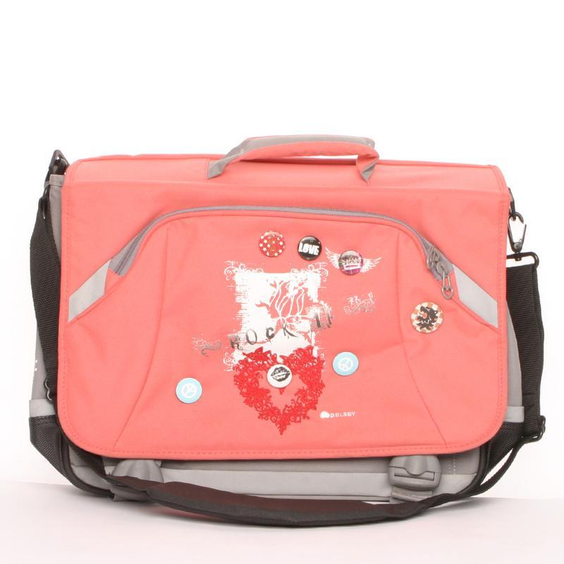 Сумка для ноутбука Delsey кроссбоди портфель на плечо школьный...