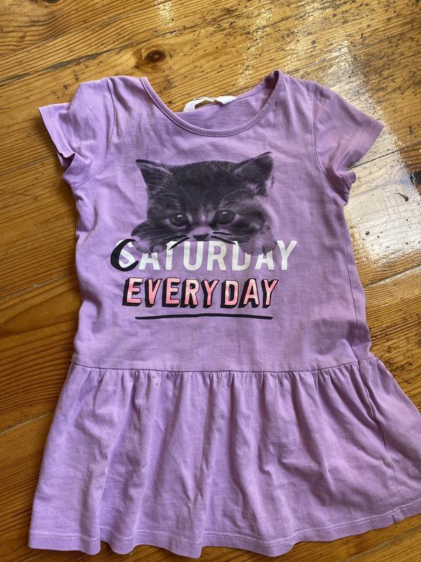 Летнее платье для девочки 98-104 h&m