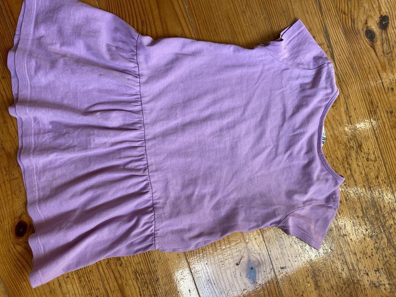 Летнее платье для девочки 98-104 h&m - Фото 3