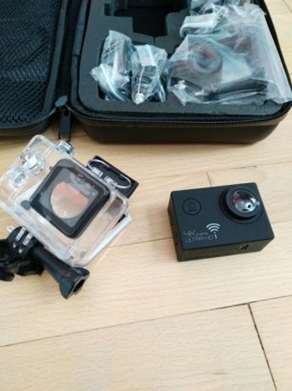 Экшн камера SJ8000 в кейсе 4K FHD action camera