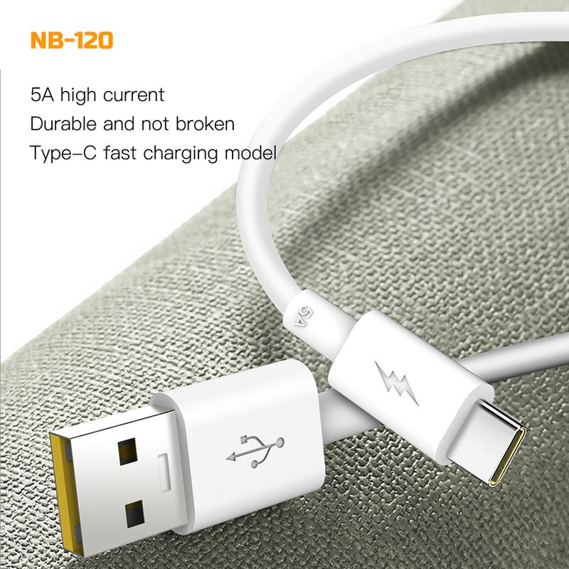 Кабель зарядки  XO micro USB super fast charging 5A (NB119) белый