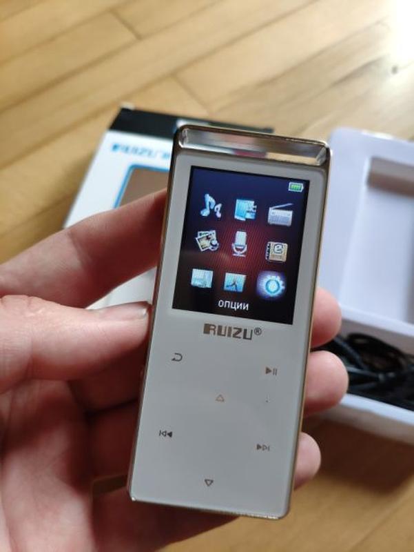 Hi-Fi Плеер Ruizu D01 MP3 MP4 player Сенсорный 4Gb