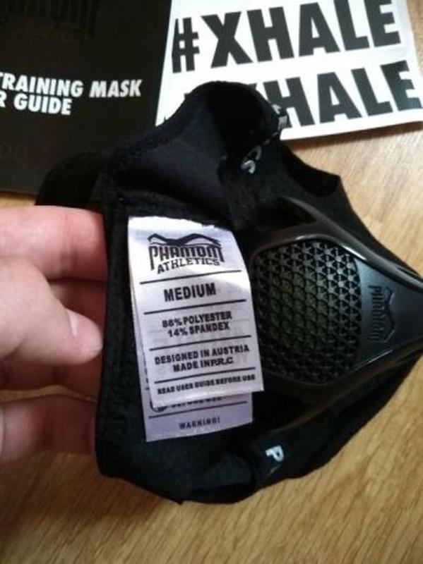 Тренировочная маска для бега Phantom Training Mask - Фото 5