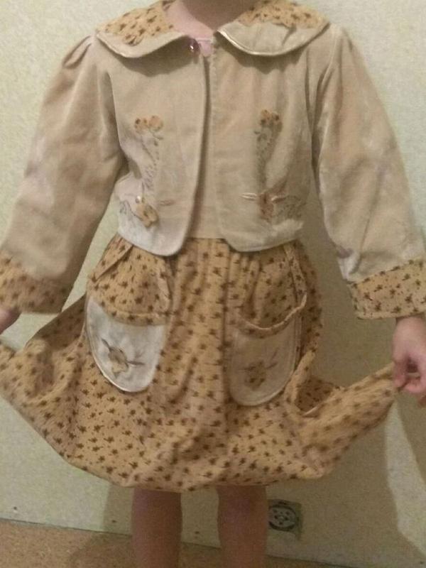 Платье пиджак костюм