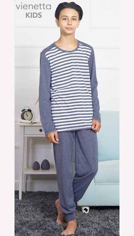 Пижамы для мальчиков vienetta secret на 9-10  лет