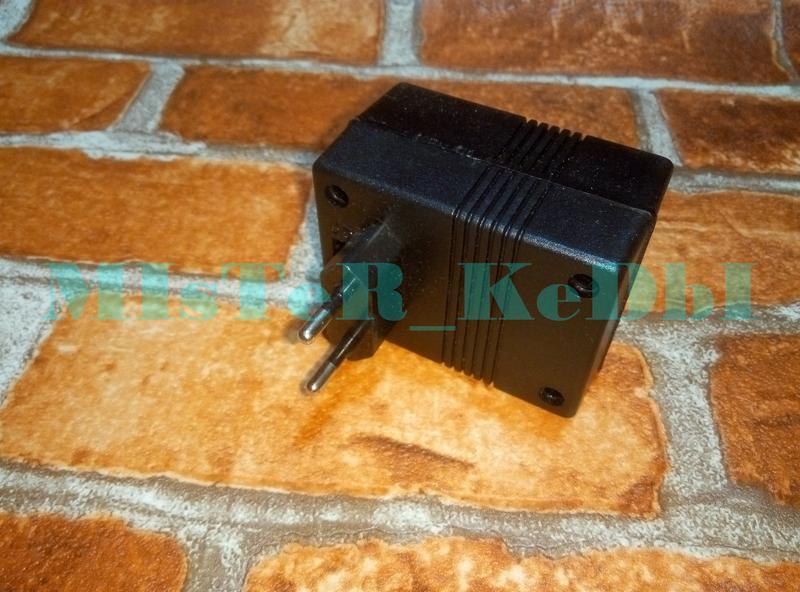 Преобразователь 220 в 110V 80Вт Конвертер, Адаптер с Американской - Фото 2