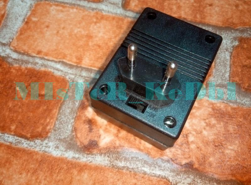 Преобразователь 220 в 110V 80Вт Конвертер, Адаптер с Американской - Фото 3
