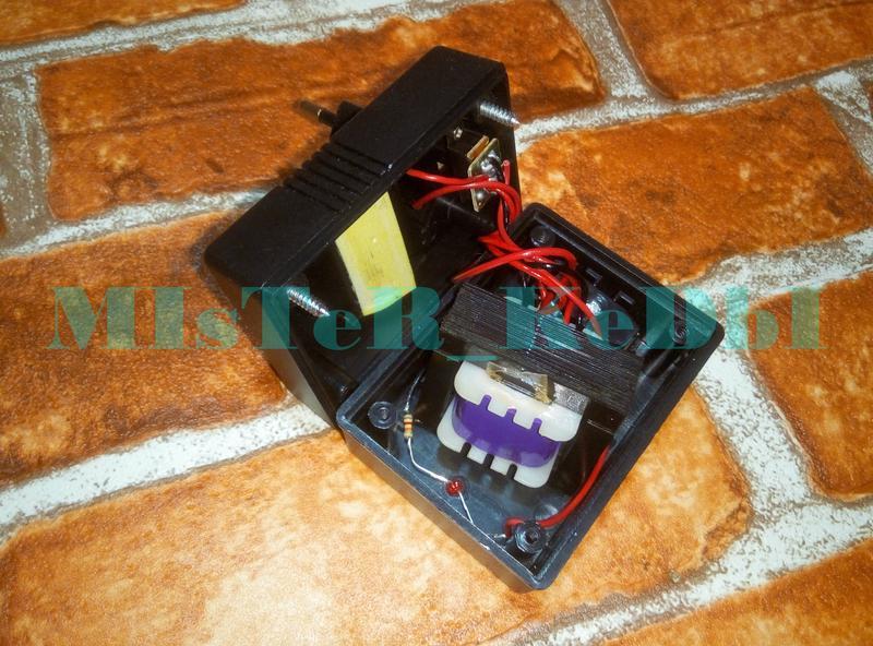 Преобразователь 220 в 110V 80Вт Конвертер, Адаптер с Американской - Фото 5