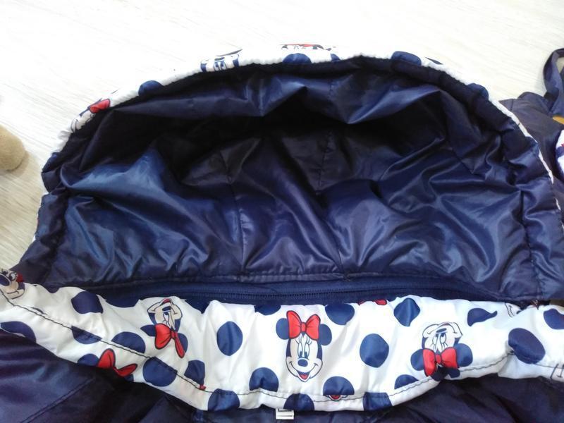 "♥ куртка ""минни"" в комплекте с сумочкой - весна/осень  ♥ - Фото 4"