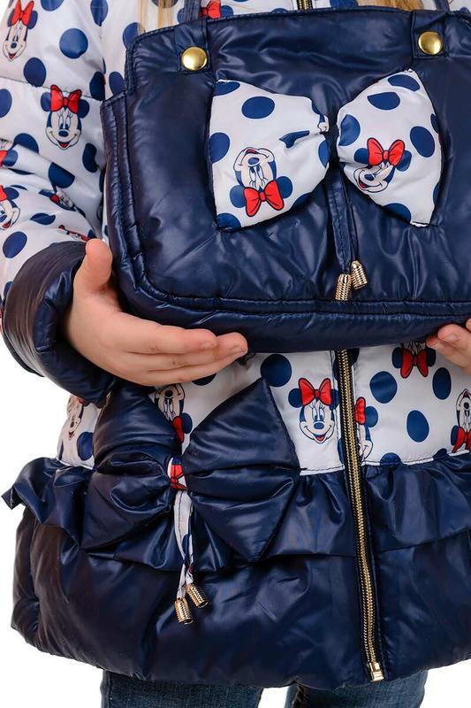 "♥ куртка ""минни"" в комплекте с сумочкой - весна/осень  ♥ - Фото 5"