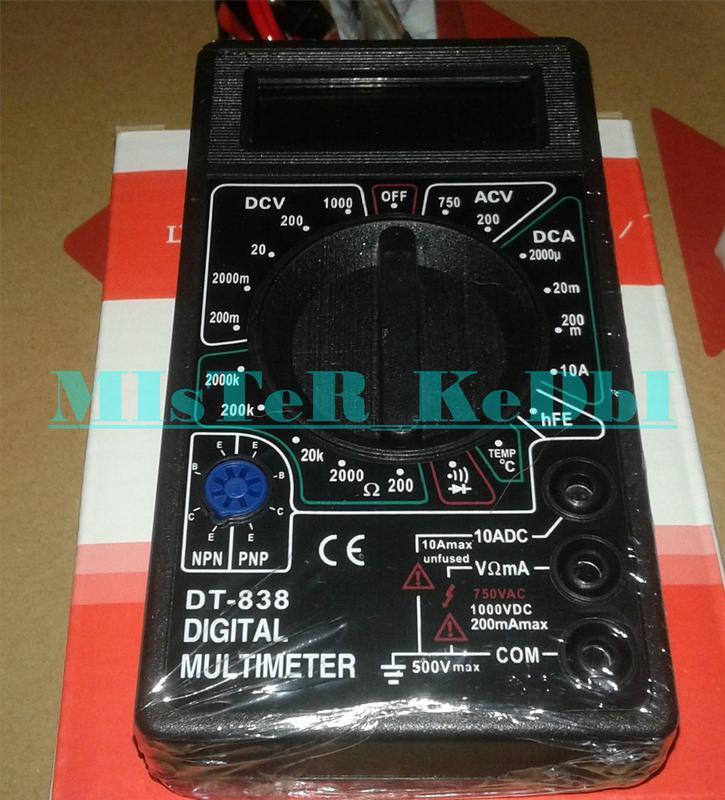 Цифровой мультиметр DT-838 + измерение температуры в Запорожье - Фото 4