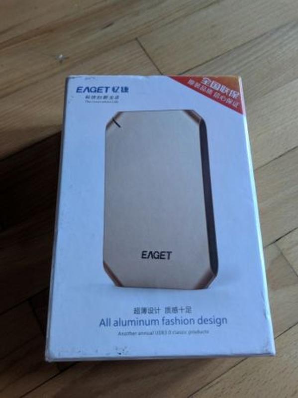 Внешний жесткий диск EAGET G60 500GB USB 3.0 - Фото 3