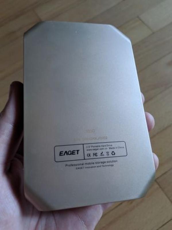 Внешний жесткий диск EAGET G60 500GB USB 3.0 - Фото 7