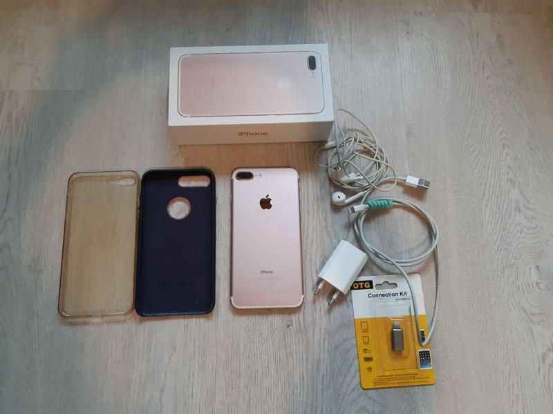 IPhone 7 Plus 128 gb Rose Gold - Фото 3